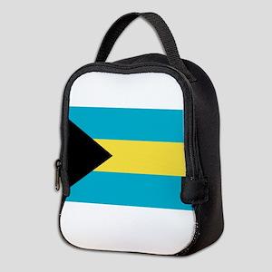 bahamas-flag Neoprene Lunch Bag