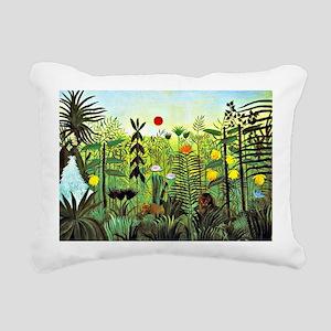Exotic Landscape with Li Rectangular Canvas Pillow