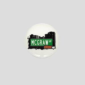 McGraw Av, Bronx, NYC Mini Button