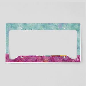 Catty Caterpillar License Plate Holder