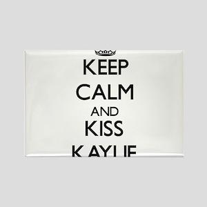 Keep Calm and kiss Kaylie Magnets