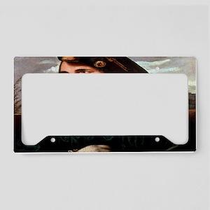 Cesare Borgia License Plate Holder