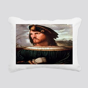 Cesare Borgia Rectangular Canvas Pillow