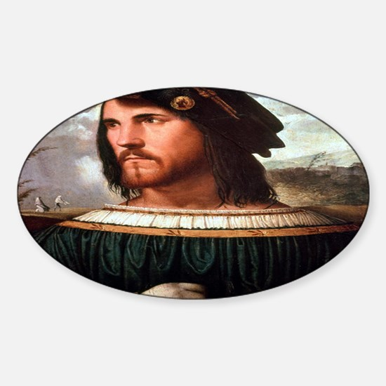 Cesare Borgia Sticker (Oval)