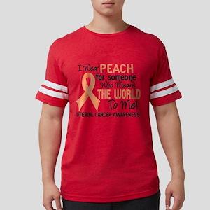 Uterine Cancer MeansWorldToMe2 T-Shirt