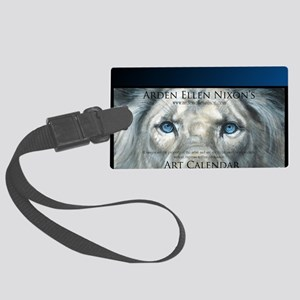 Big Cats Only Large Luggage Tag