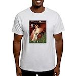 Seated Angel & Boxer Light T-Shirt