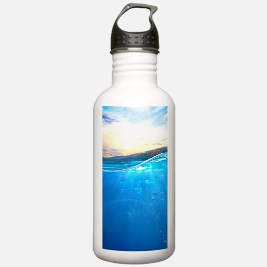 Underwater Ocean Water Bottle