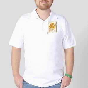 horseA41dark Golf Shirt