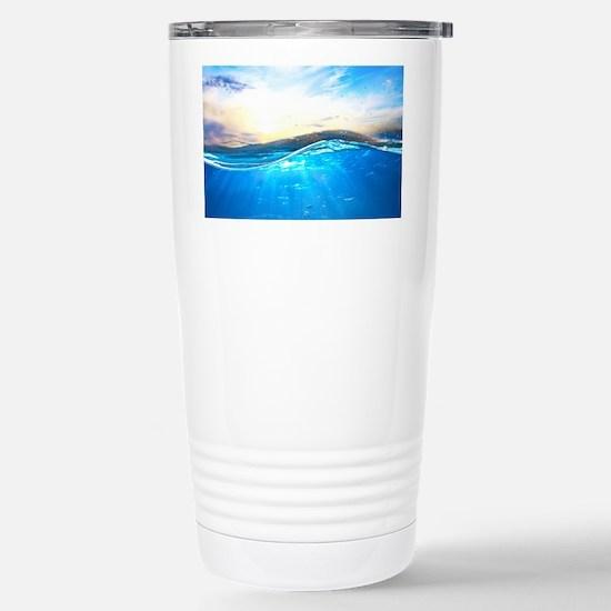 Underwater Ocean Stainless Steel Travel Mug