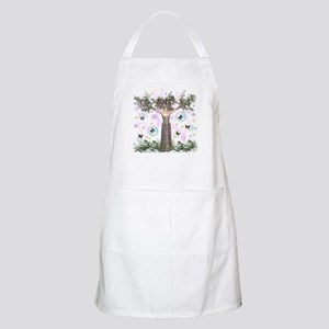 Mother Earth Tree BBQ Apron