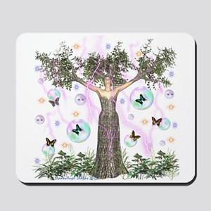 Mother Earth Tree Mousepad