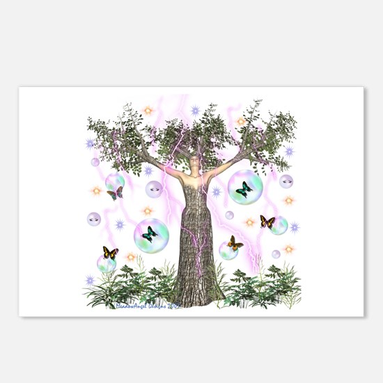 Mother Earth Tree Postcards (Package of 8)