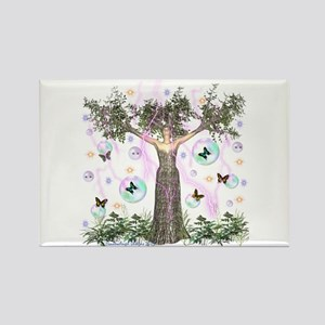 Mother Earth Tree Rectangle Magnet
