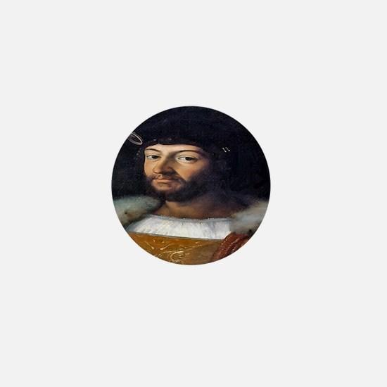 Lorenzo Medici Mini Button