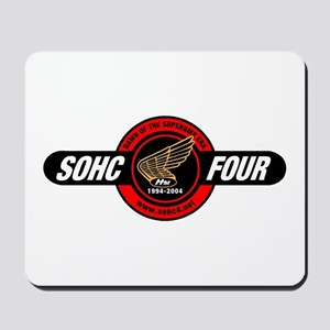 SOHC/4 10Th Anniversary Logo Mousepad