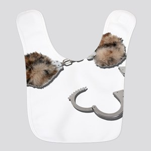 FurLinedHandcuffs081311 Polyester Baby Bib