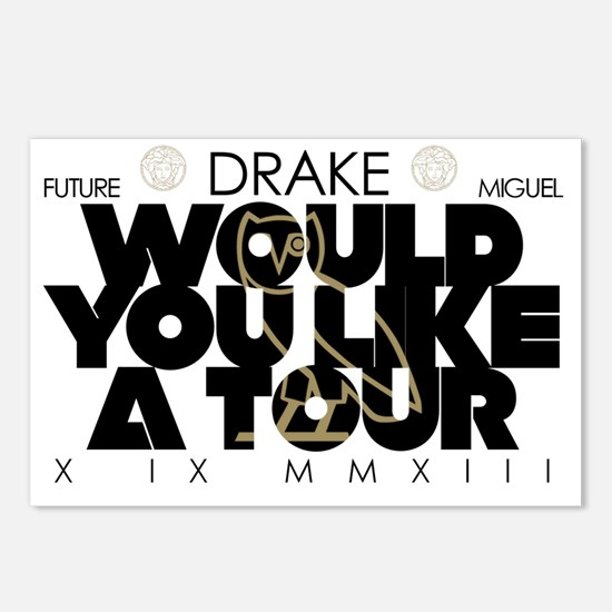 Drake Tour Postcards (Package of 8)