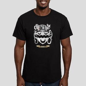 Walker Family Crest (C Men's Fitted T-Shirt (dark)
