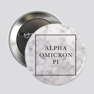 "Alpha Omicron Pi Marble 2.25"" Button (10 pack)"