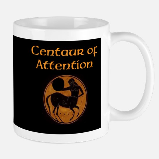 Centaur Of Attention Small Mugs Mugs