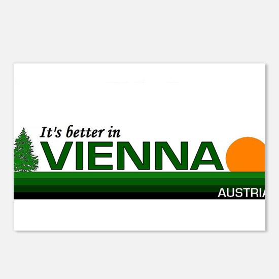 Its Better in Vienna, Austria Postcards (Package o