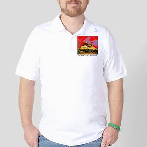 Bell Rock Vortex Sedona, AZ  (BRV6) Golf Shirt