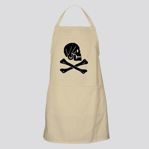 Henry Every Jolly Roger:Pirate Flag Black Apron