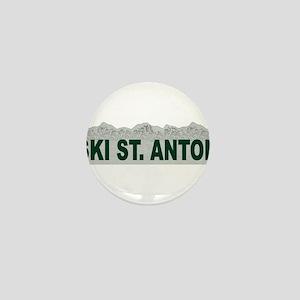 Ski St. Anton, Austria Mini Button