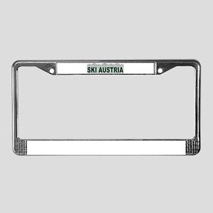 Ski Austria License Plate Frame