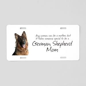 Shepherd Mom Aluminum License Plate