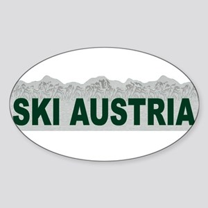 Ski Austria Oval Sticker