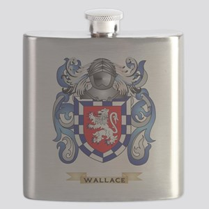 Wallace Family Crest (Coat of Arms) Flask