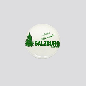 Visit Beautiful Salzburg, Aus Mini Button