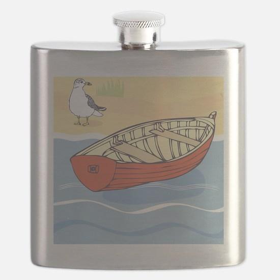 Beach Boat Flask