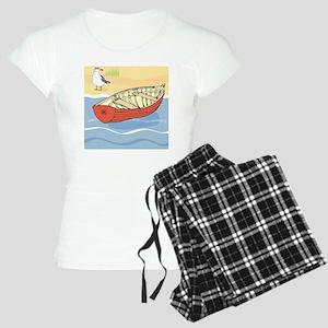 Beach Boat Women's Light Pajamas