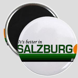 Its Better in Salzburg, Austr Magnet