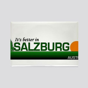 Its Better in Salzburg, Austr Rectangle Magnet