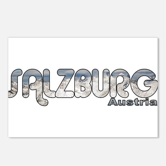 Salzburg, Austria Postcards (Package of 8)