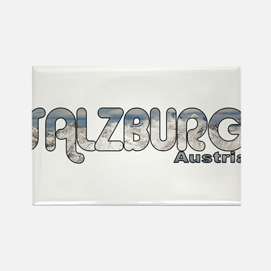 Salzburg, Austria Rectangle Magnet