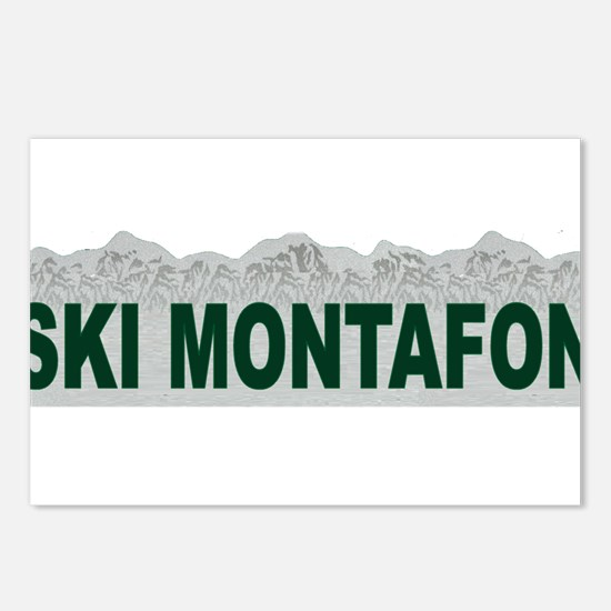 Ski Montafon Postcards (Package of 8)