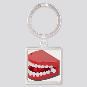 Fake Chattering Teeth Keychains