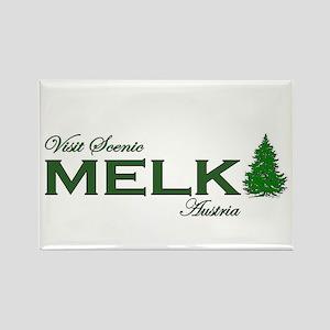 Visit Scenic Melk, Austria Rectangle Magnet