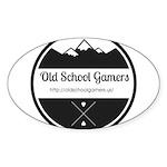 Old School Gamers Sticker