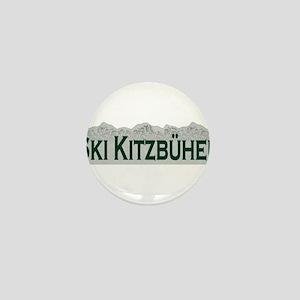 Ski Kitzbuhel, Austria Mini Button