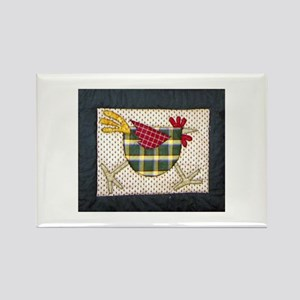Chicken #2 Rectangle Magnet