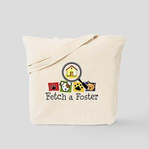 Fetch a Foster Tote Bag