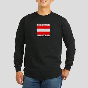 Innsbruck, Austria Long Sleeve Dark T-Shirt