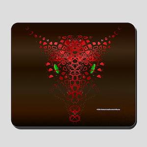 Abstract Dragon Mousepad