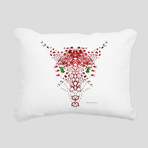 Abstract Dragon Rectangular Canvas Pillow